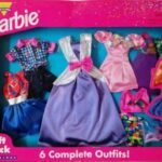 barbie-gift-pack-fashions-6-complete-outfit