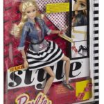 barbie-style-doll-jean-jacket-and-black-white-shirt