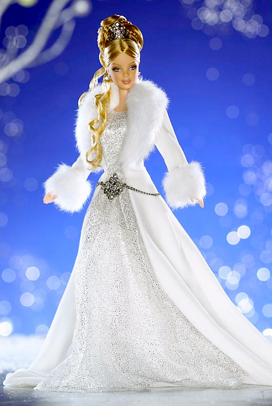 Holiday Visions Winter Fantasy Barbie