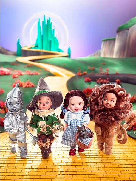 Kelly Doll and Friends, The Wizard of Oz Giftset