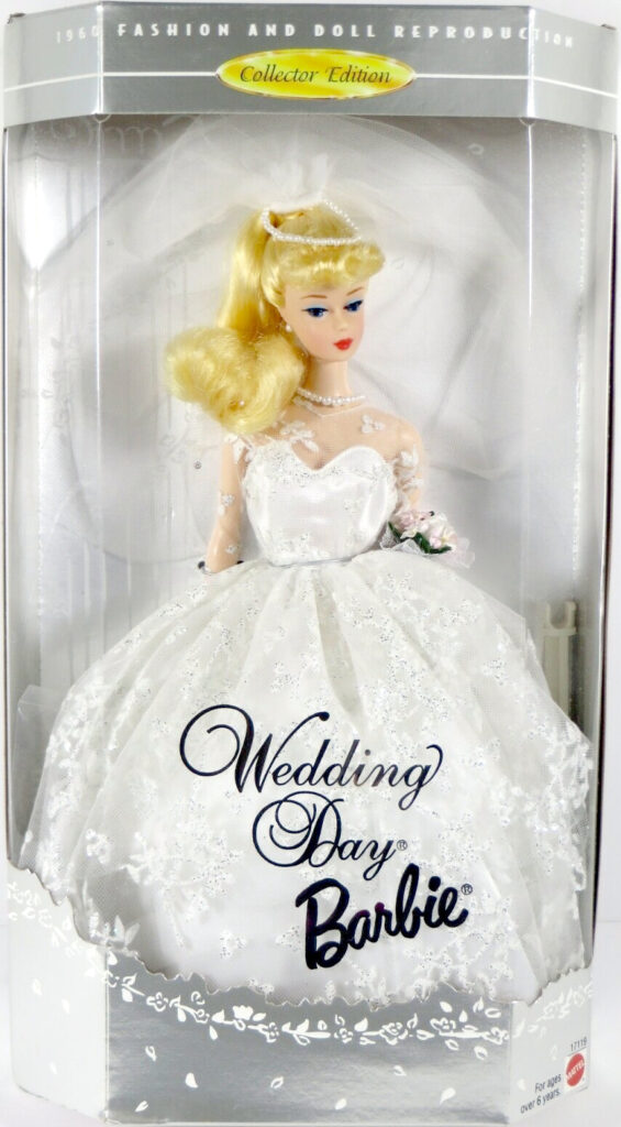 Wedding Day Barbie, Blonde, 1960 Fashion And Doll Reproduction